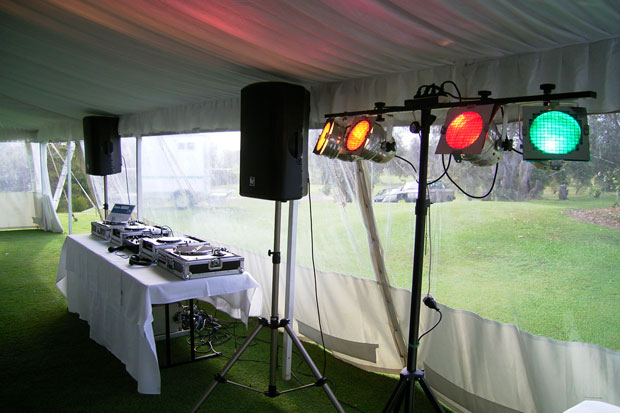 Wedding sound hire